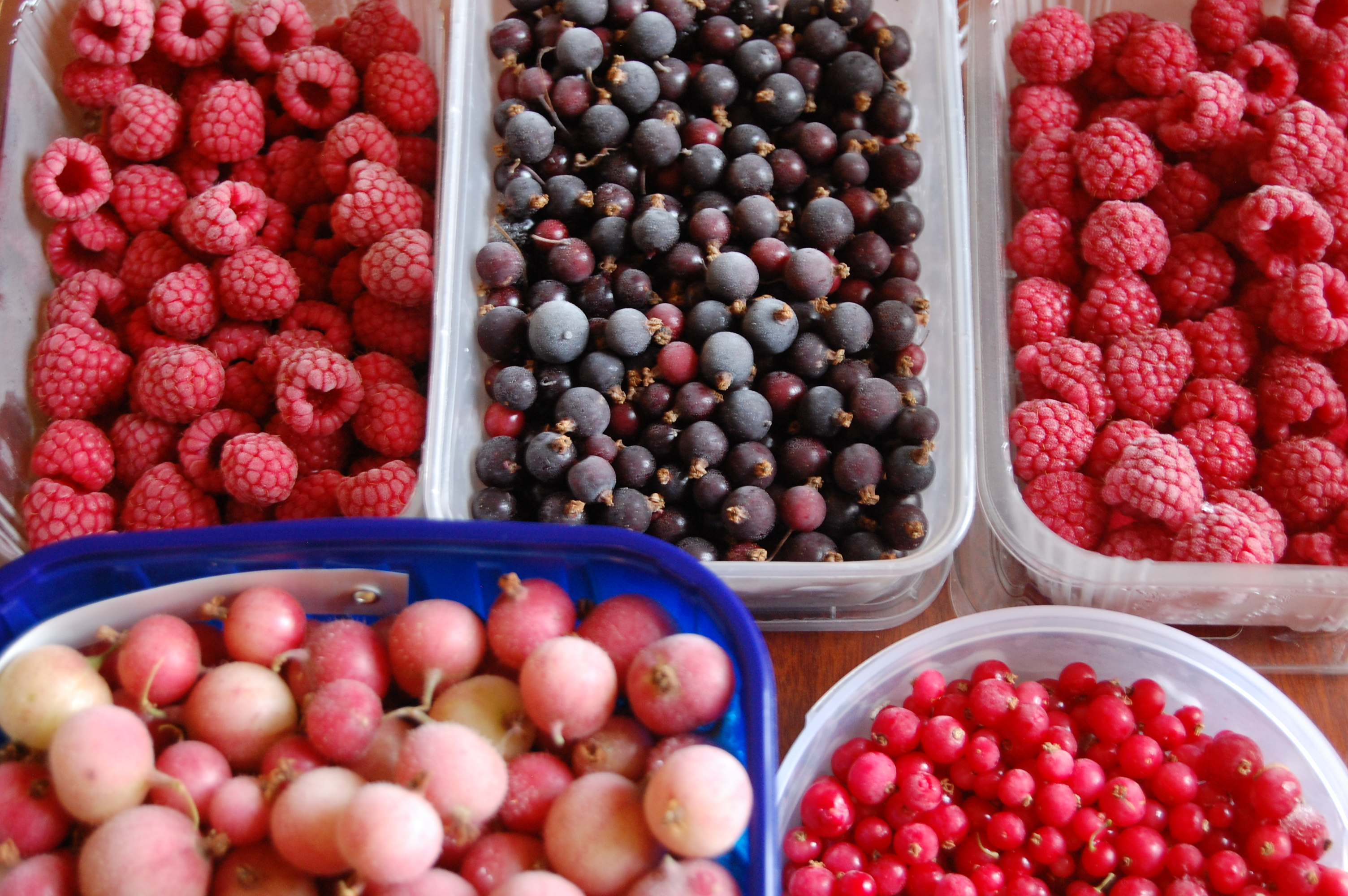 how to cook frozen berries
