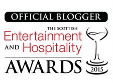 Official Blogger Scottish Entertainment and Hospitality Awards