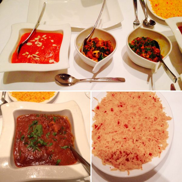 Voujon's veritable feast - there's unfamiliar dishes on the menu - but be brave and try them